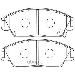 Колодки тормозные дисковые (FIT) FP0440
