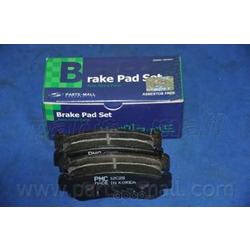 Комплект тормозных колодок (Parts-Mall) PKC016