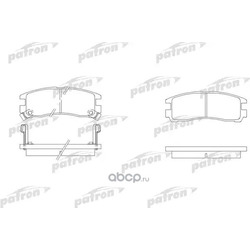 Колодки тормозные дисковые задние (PATRON) PBP803