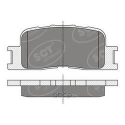 Колодки торм.RR (SCT) SP334
