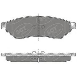 Колодки торм.RR (SCT) SP645