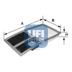 Воздушный фильтр (UFI) 3034200