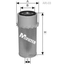 Фильтр воздушный (M-Filter) A863