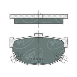Колодки торм.RR (SCT) SP386