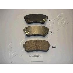 Комплект тормозных колодок, дисковый тормоз (Ashika) 510KK09