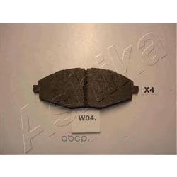 Комплект тормозных колодок, дисковый тормоз (Ashika) 50W0004