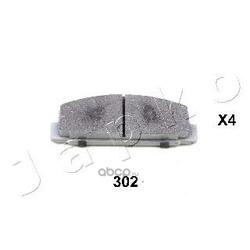 Комплект тормозных колодок, дисковый тормоз (JAPKO) 51302