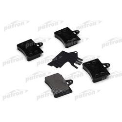 Колодки тормозные дисковые задн CITROEN: C5 01-04, C5 04-, C5 Break 01-04, C5 Break 04- (PATRON) PBP1413