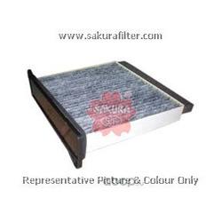 Фильтр салона угольный (Sakura) CAC1006