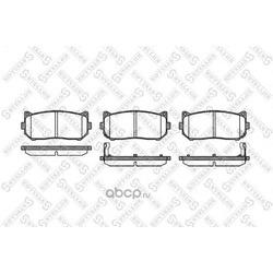 Комплект тормозных колодок (Stellox) 660002SX