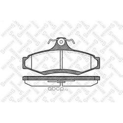 Комплект тормозных колодок (Stellox) 657010BSX