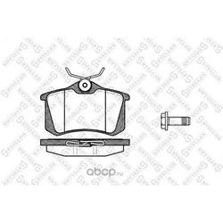Комплект тормозных колодок, дисковый тормоз (Stellox) 274005BSX