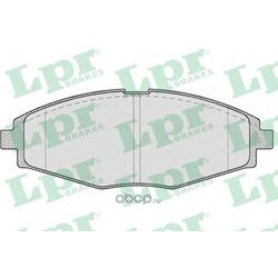 Комплект тормозных колодок, дисковый тормоз (Lpr) 05P693