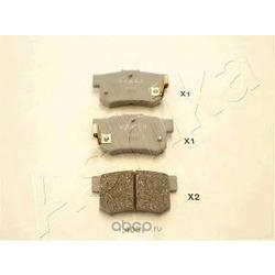 Комплект тормозных колодок, дисковый тормоз (Ashika) 5104405