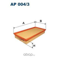 Фильтр воздушный Filtron (Filtron) AP0043