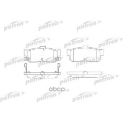 Колодки тормозные дисковые задние (PATRON) PBP1104