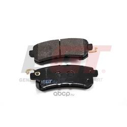 Колодки тормозные дисковые передние (EGT) 322163EGT