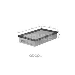 Воздушный фильтр (Mahle/Knecht) LX1596