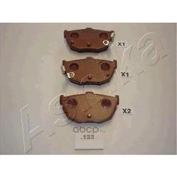 Комплект тормозных колодок, дисковый тормоз (Ashika) 5101123