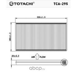 Фильтр салона (TOTACHI) TCA295