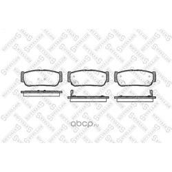 Комплект тормозных колодок (Stellox) 1074002SX