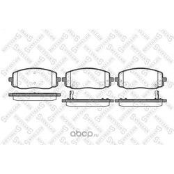 Комплект тормозных колодок (Stellox) 1144002SX