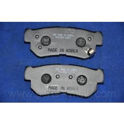 Комплект тормозных колодок (Parts-Mall) PKA009
