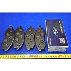 Комплект тормозных колодок (Parts-Mall) PKA003