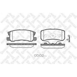 Комплект тормозных колодок (Stellox) 814002BSX