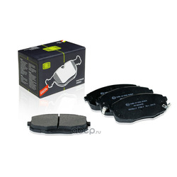 Колодки тормозные дисковые (Trialli) PF083402