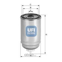 Топливный фильтр (UFI) 2444400