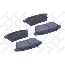 Комплект тормозных колодок (Stellox) 000067BSX