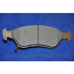 Комплект тормозных колодок (Parts-Mall) PKB007