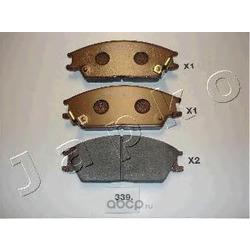 Комплект тормозных колодок, дисковый тормоз (JAPKO) 50339