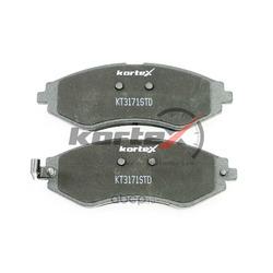 Комплект тормозных колодок, дисковый тормоз (KORTEX) KT3171STD