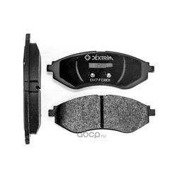 Колодки тормозные передние (Dextrim) DX7FD801
