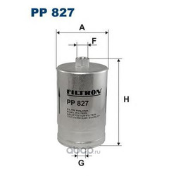 Фильтр топливный Filtron (Filtron) PP827