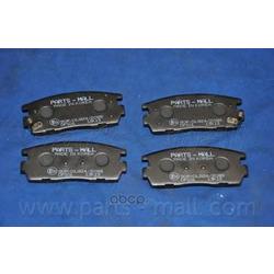Комплект тормозных колодок (Parts-Mall) PKCE21