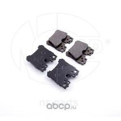 Колодки тормозные задние TOYOTA LS460 (NSP) NSP04044660W020
