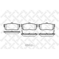 Комплект тормозных колодок (Stellox) 377012SX