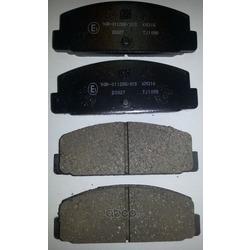Колодки тормозные дисковые, комплект (Kashiyama) D3027