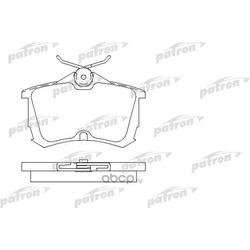 Колодки тормозные дисковые задние (PATRON) PBP1506