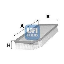 Воздушный фильтр (UFI) 3025100
