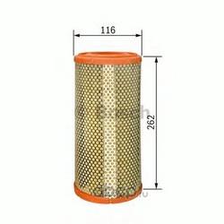 Воздушный фильтр (Bosch) 1457433712
