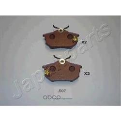 Колодки тормозные дисковые (Japanparts) PP507AF