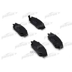 Колодки тормозные дисковые передн HYUNDAI: PONY 89-95, PONY/EXCEL седан 90-95, S COUPE 90-96, STELLAR 83-91 (PATRON) PBP435