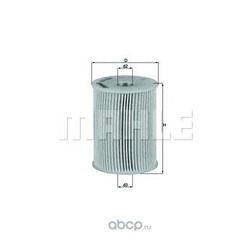 Топливный фильтр (Mahle/Knecht) KX231D