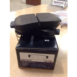 Колодки тормозные дисковые задние к-т (HSB) HP0008