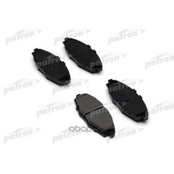 Колодки тормозные дисковые передн CHEVROLET: MATIZ 05-, DAEWOO: LANOS 97-, LANOS седан 97-, MATIZ 98- (PATRON) PBP1337