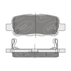 Колодки торм.RR (SCT) SP339